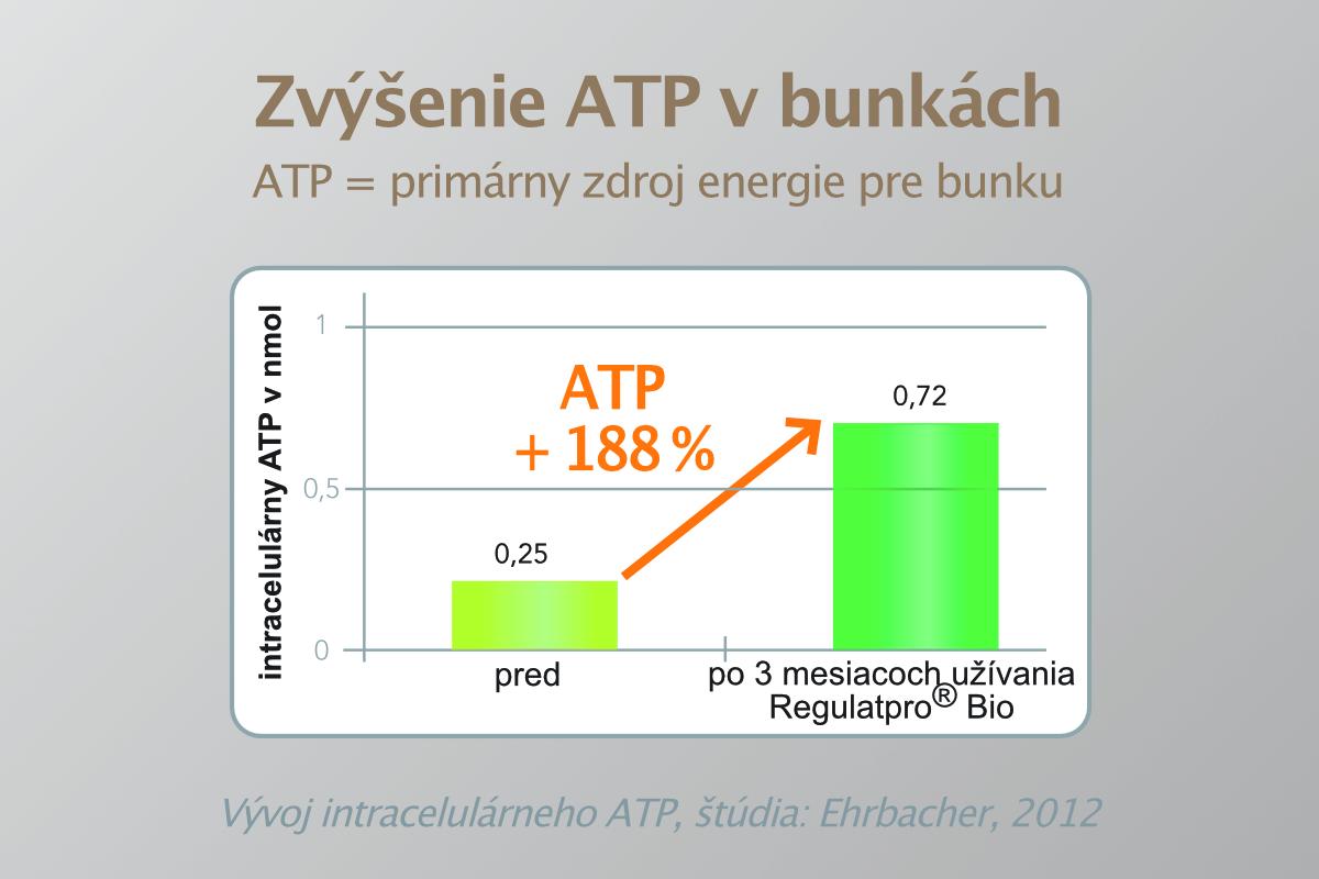 Zvýšenie ATP v bunkách
